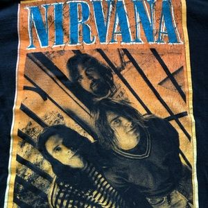 Tops - Vintage Nirvana band shirt